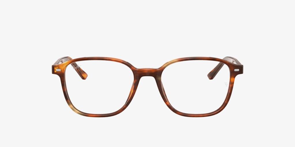 Ray-Ban RX5393 LEONARD Striped Havana Eyeglasses