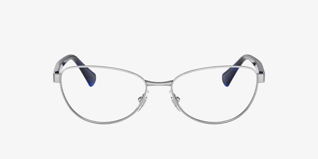 Ralph RA6048 Shiny Silver Eyeglasses