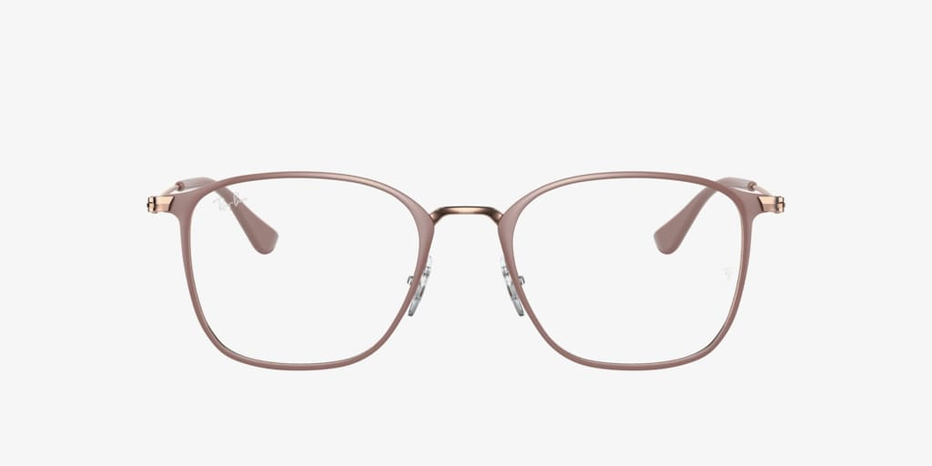 Ray-Ban RX6466 Beige on Copper Eyeglasses