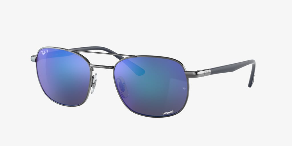 Ray-Ban RB3670CH 54 Gunmetal Sunglasses