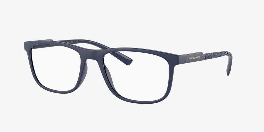 Dolce&Gabbana DG5062 Matte Blue Eyeglasses