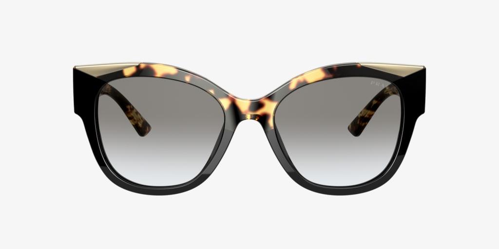 Prada PR 02WS Black Tortoise Sunglasses