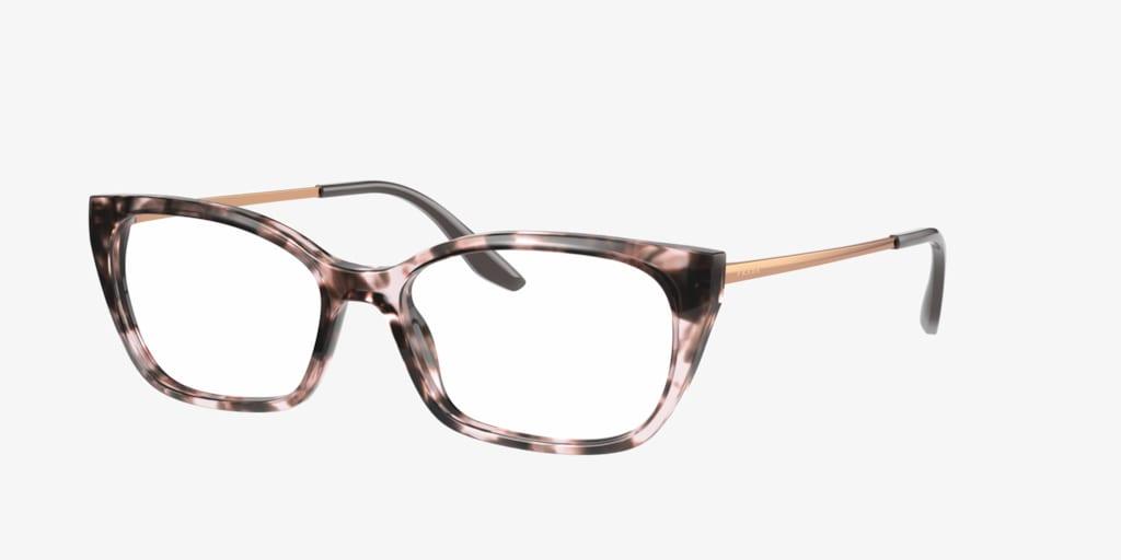 Prada PR 14XV Pink Tortoise Eyeglasses