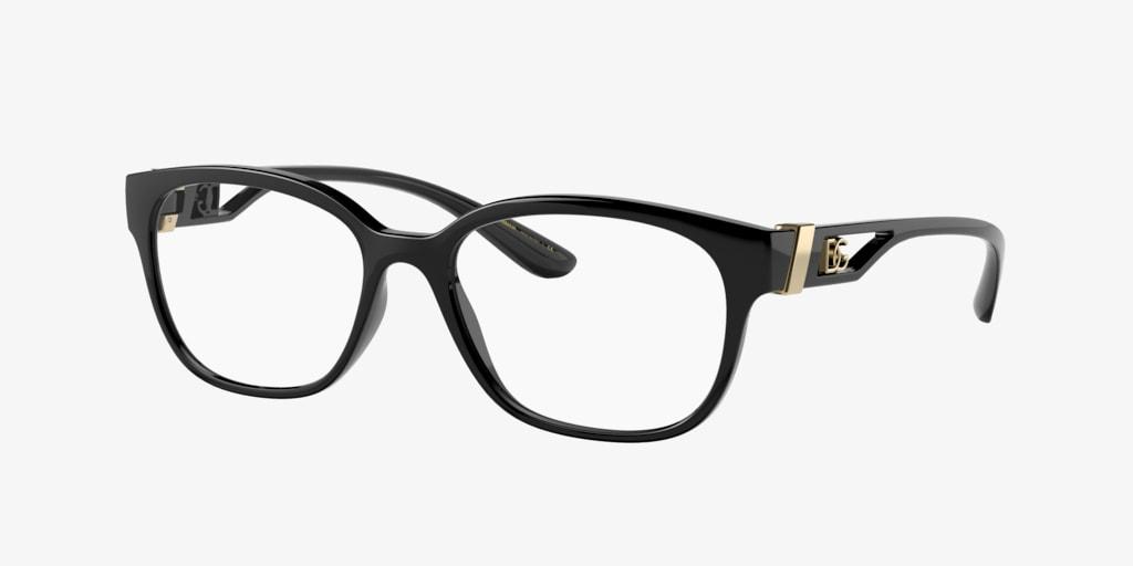 Dolce&Gabbana DG5066 Black Eyeglasses
