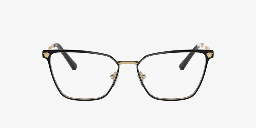 Versace VE1275 Matte Black/Gold Eyeglasses