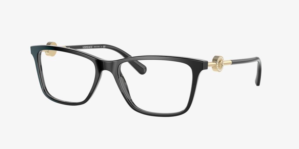 Versace VE3299B Black Eyeglasses