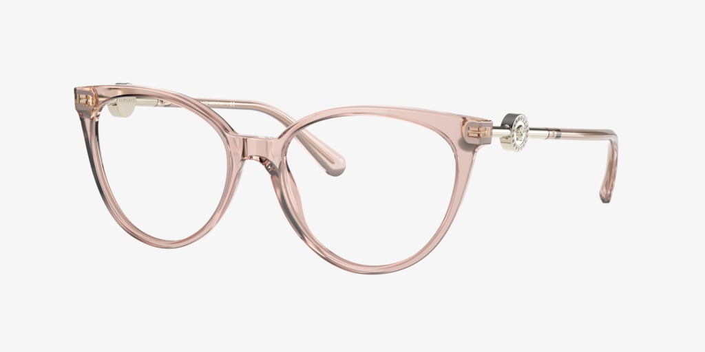 Versace VE3298B Transparent Pink Eyeglasses