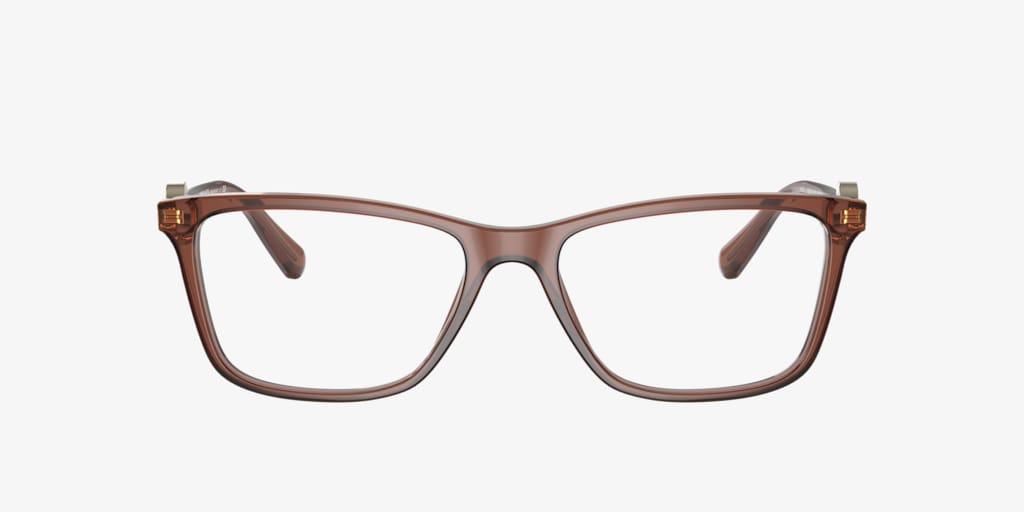 Versace VE3299B Transparent Brown Eyeglasses