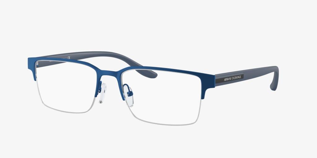 Armani Exchange AX1046 Matte Blue Eyeglasses
