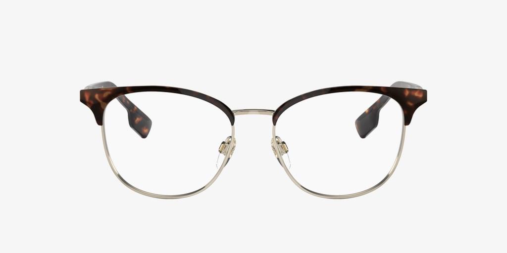 Burberry BE1355 Havana/Light Gold Eyeglasses