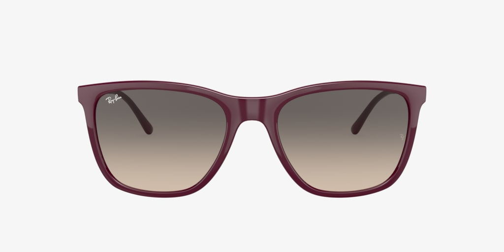 Ray-Ban RB4344 56 Red Cherry Sunglasses