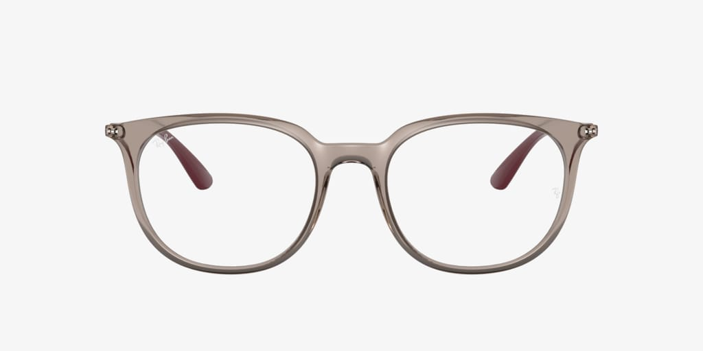 Ray-Ban RX7190 Transparent Grey Eyeglasses