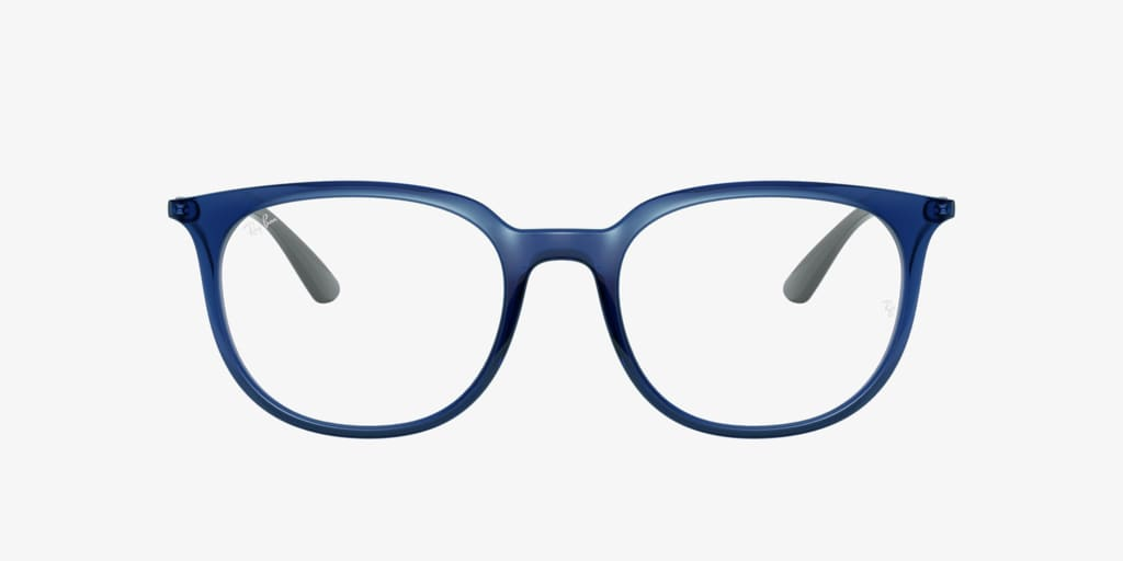 Ray-Ban RX7190 Transparent Blue Eyeglasses