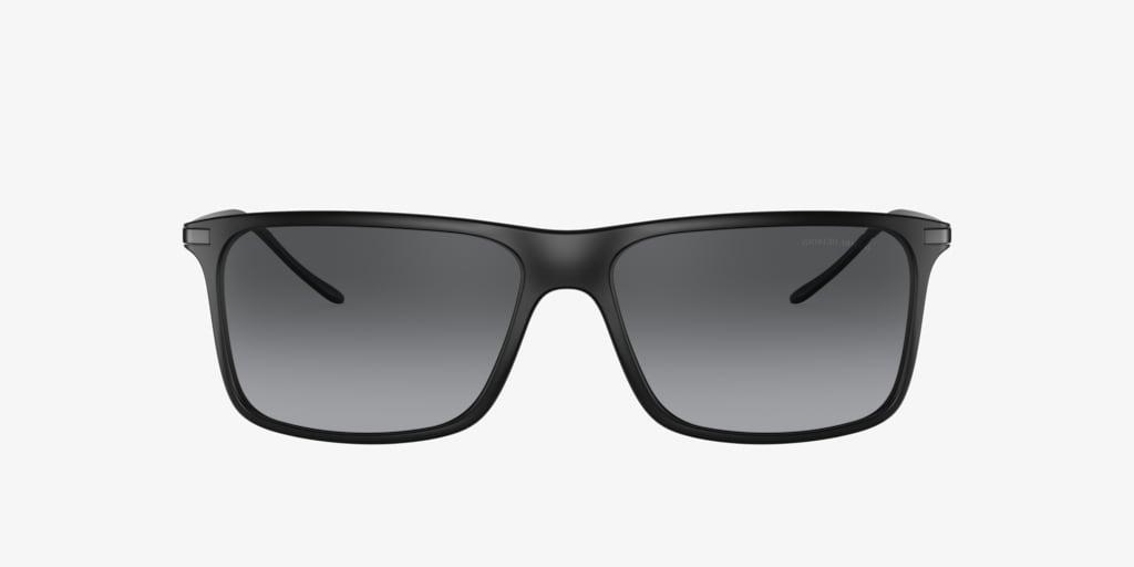 Giorgio Armani AR8034 57 Matte Black Sunglasses