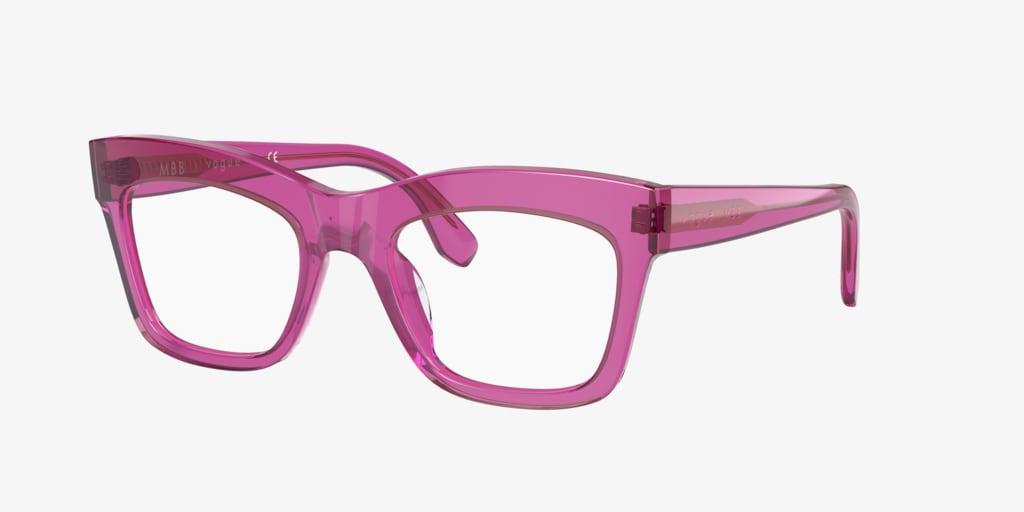 Vogue VO5396 Transparent Fuxia Eyeglasses