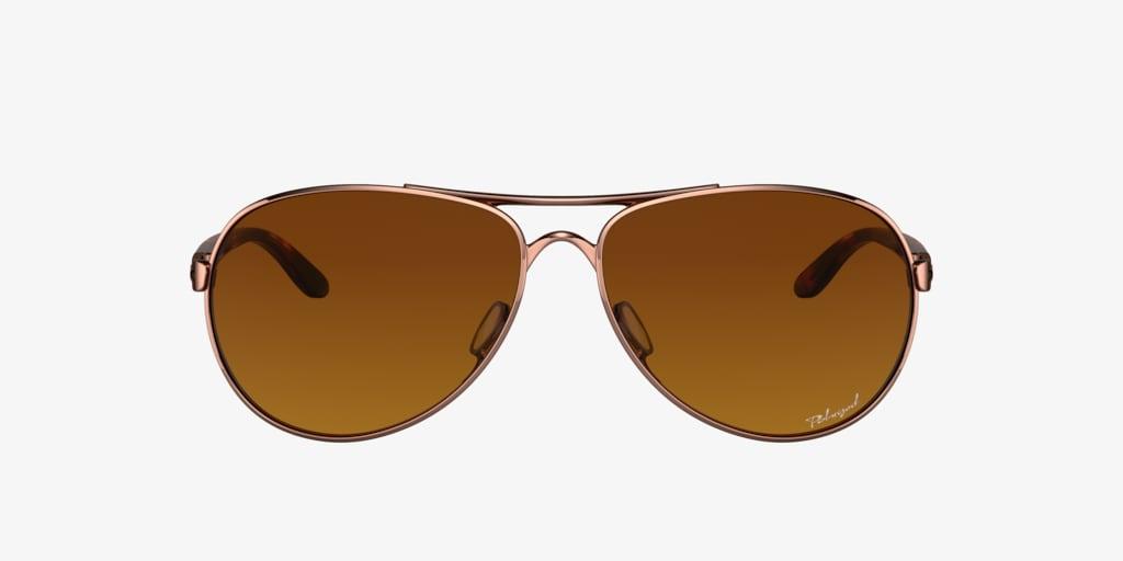 Oakley OO4079 59 FEEDBACK Gold Sunglasses