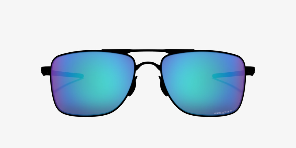 Oakley OO4124 62 Gauge 8 Matte Gunmetal Sunglasses