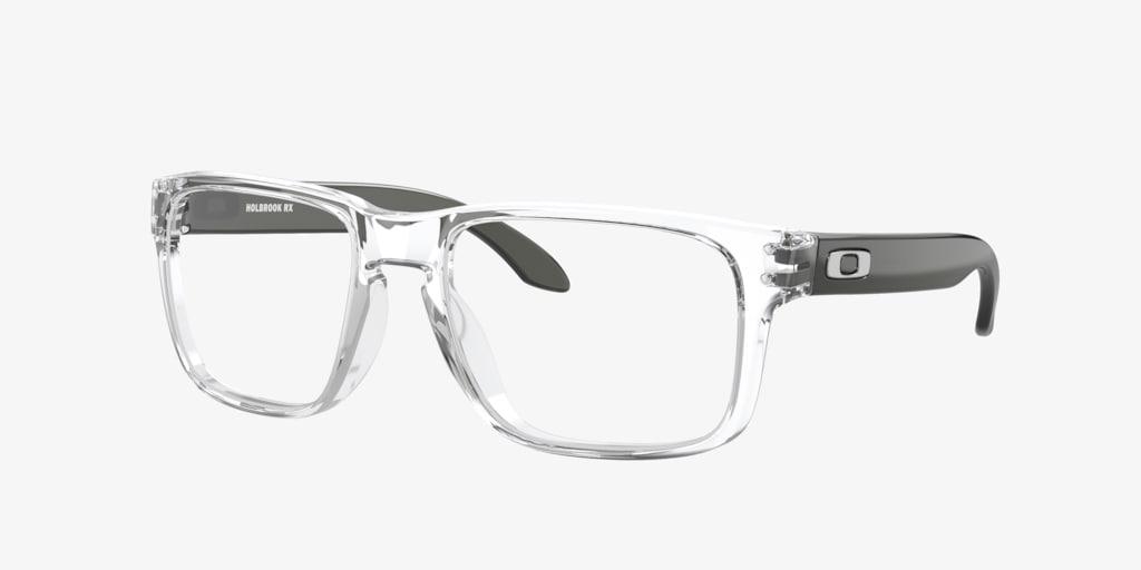 Oakley OX8156 HOLBROOK RX Polished Clear Eyeglasses