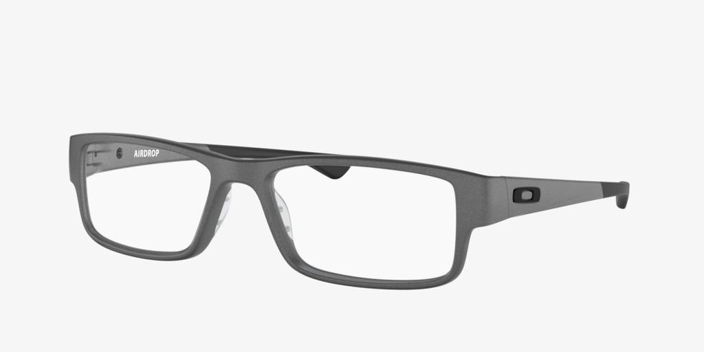 Oakley OX8046 AIRDROP Satin Light Steel Eyeglasses