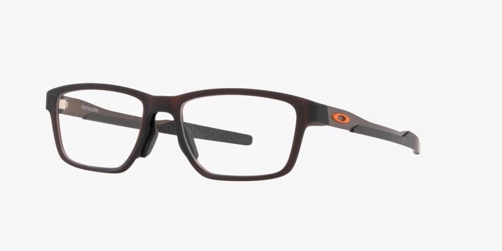 Oakley OX8153 Metalink Black Eyeglasses
