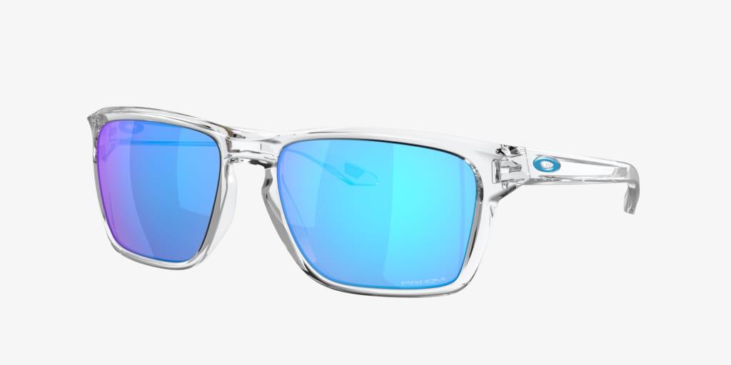 Oakley OO9448 57 SYLAS Polished Clear Sunglasses