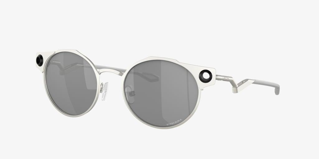 Oakley OO6046 50 DEADBOLT Satin Grey Sunglasses