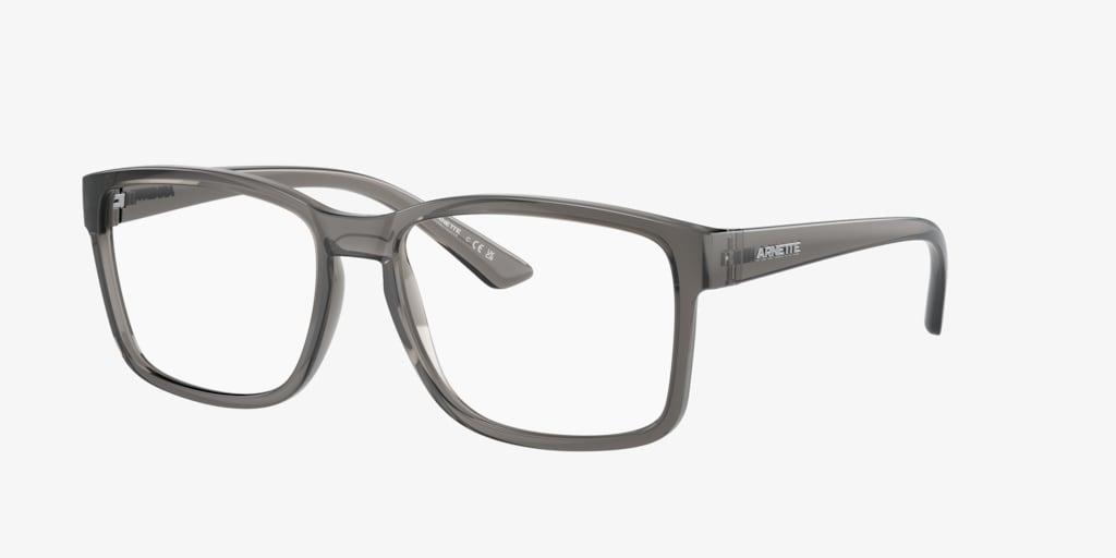 Arnette AN7177 Shiny Transparent Grey Eyeglasses