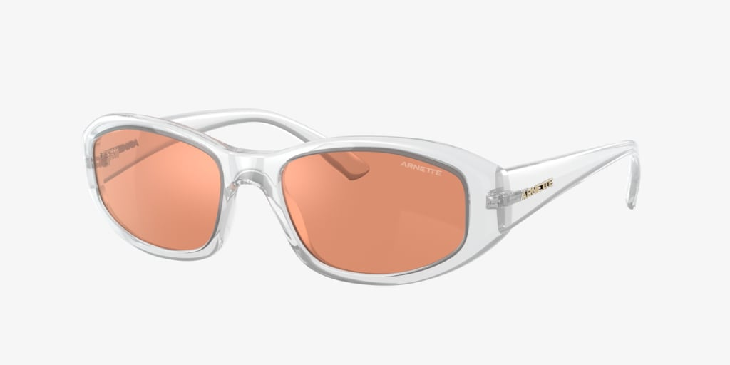 Arnette AN4266 54 LIZARD Shiny Transparent Sunglasses