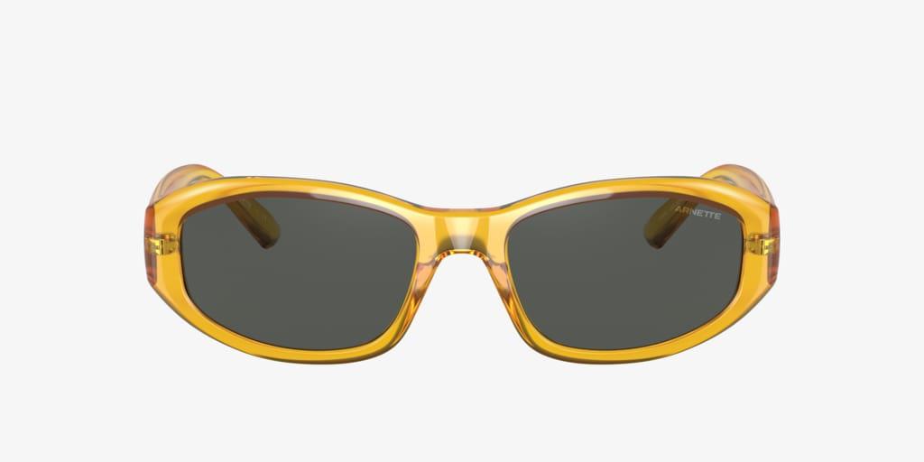 Arnette AN4266 54 LIZARD Shiny Transparent Yellow Sunglasses