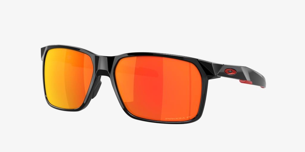 Oakley OO9460 59 PORTAL X Polished Black Sunglasses
