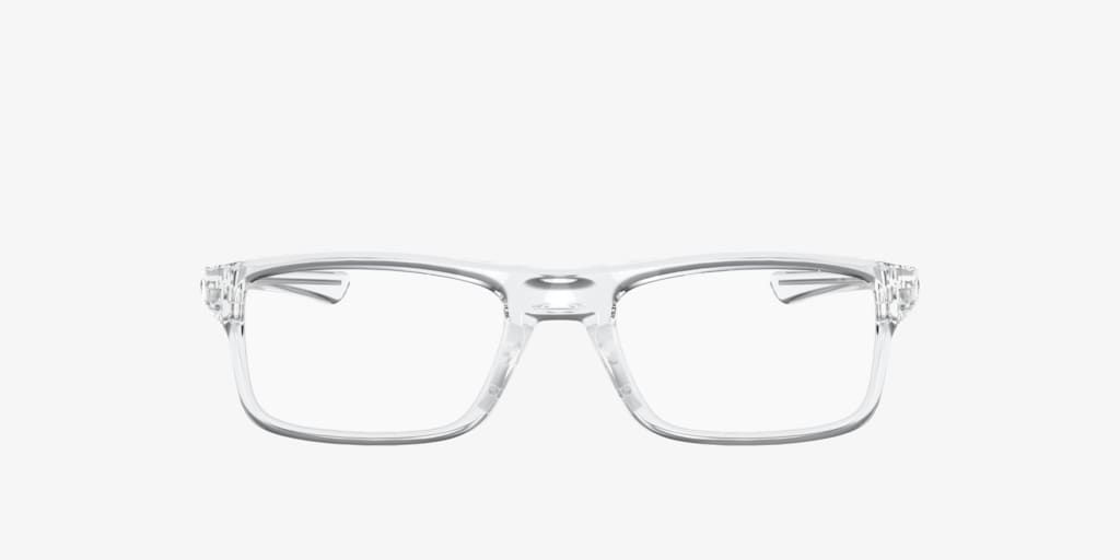 Oakley OX8081 PLANK 2.0 Polished Clear Eyeglasses