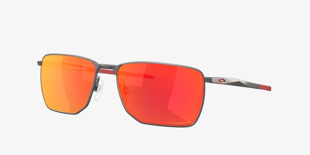 Oakley OO4142 58 EJECTOR Matte Gunmetal Sunglasses
