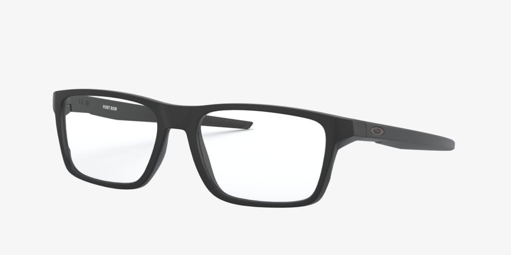 Oakley PORT BOW Satin Black Eyeglasses