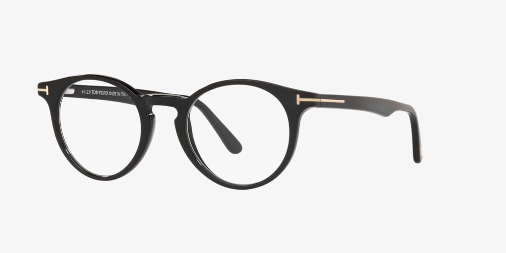 Tom Ford FT5557-B Shiny Black Eyeglasses