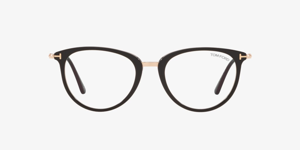 Tom Ford FT5640-B Shiny Black Eyeglasses
