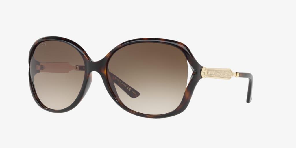 Gucci GG0076S 60  Sunglasses