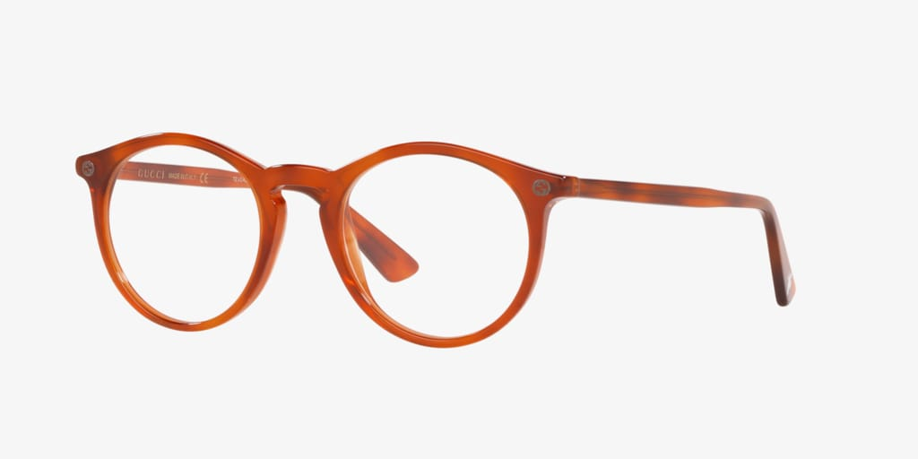 Gucci GG0121O Tortoise Eyeglasses