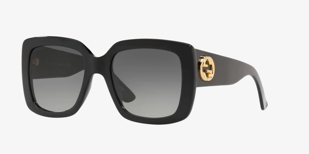 Gucci GG0141S 53 Black Sunglasses