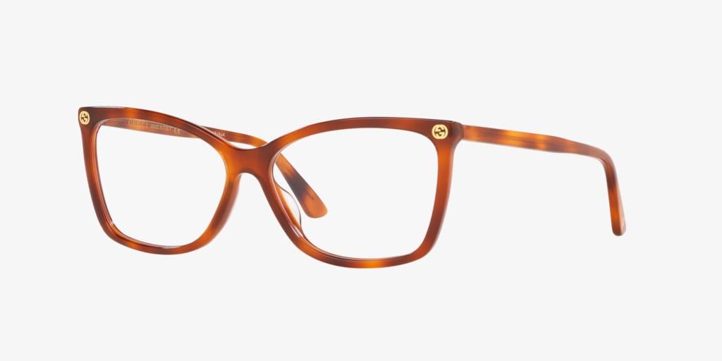 Gucci GG0025O Tortoise Eyeglasses