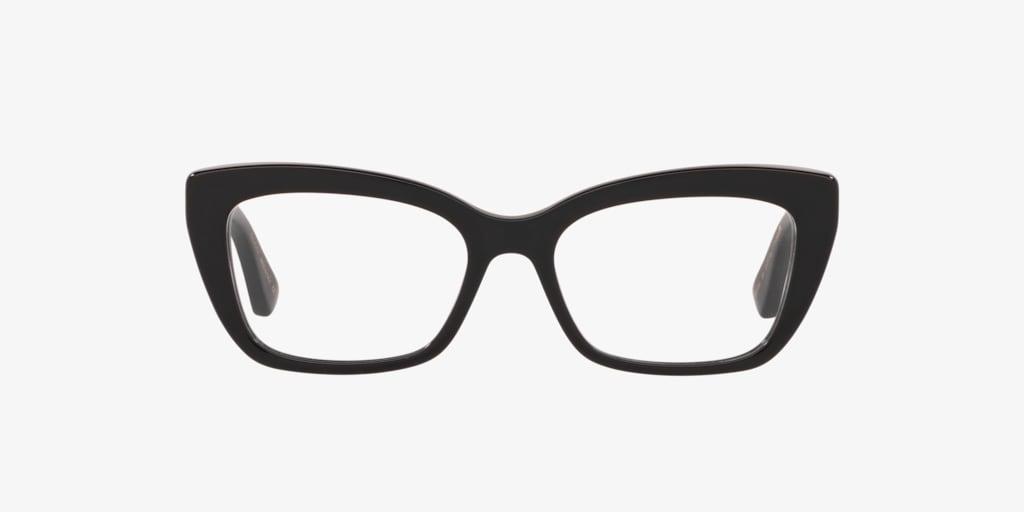 Gucci GG0165O Shiny Black Eyeglasses