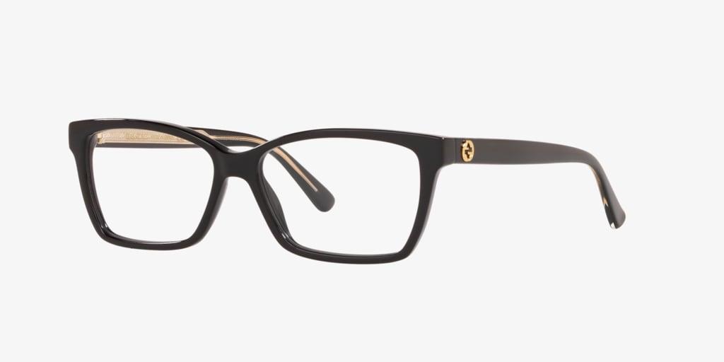 Gucci GG0312O Shiny Black Eyeglasses