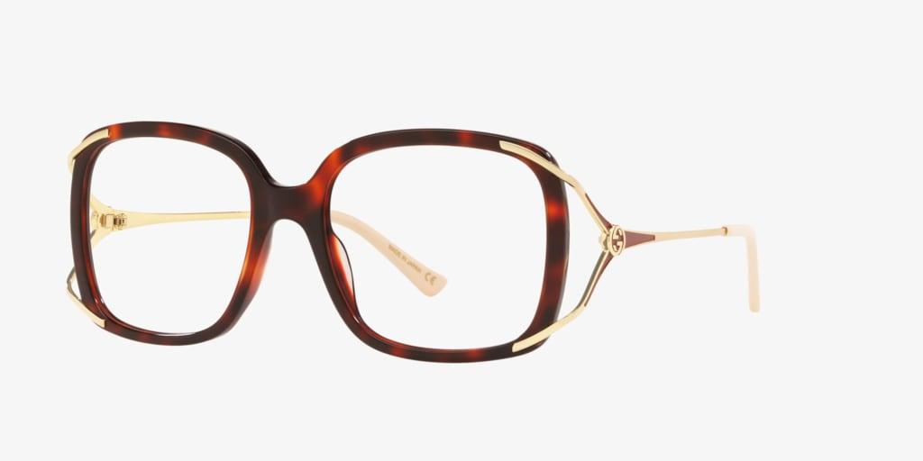 Gucci GG0648O Tortoise Eyeglasses