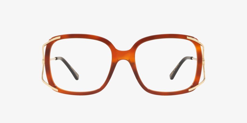 Gucci GG0648O Tortoise on Gold Eyeglasses