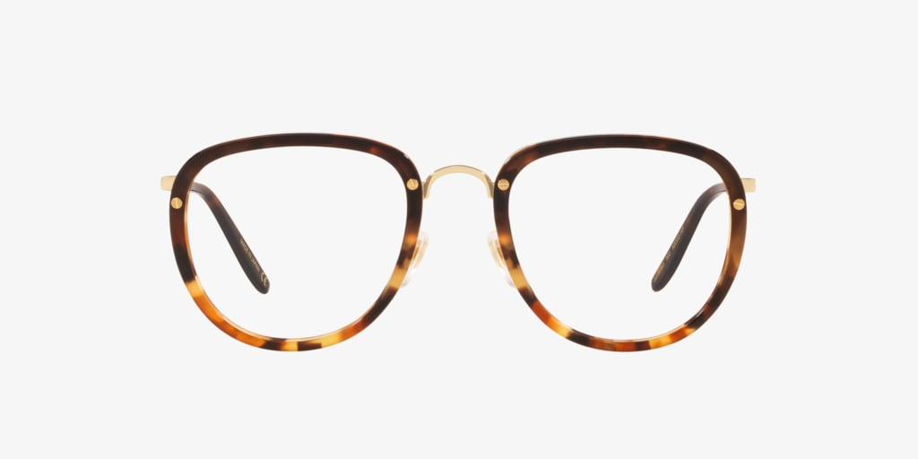 Gucci GG0675O Tortoise on Gold Eyeglasses