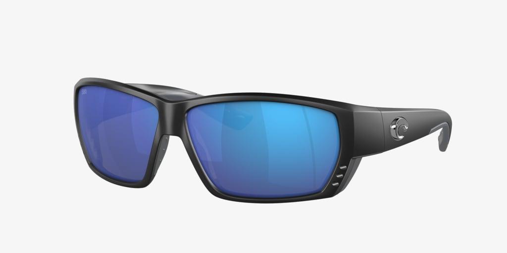 Costa Del Mar CDM TUNA ALLEY 62 Matte Black Sunglasses