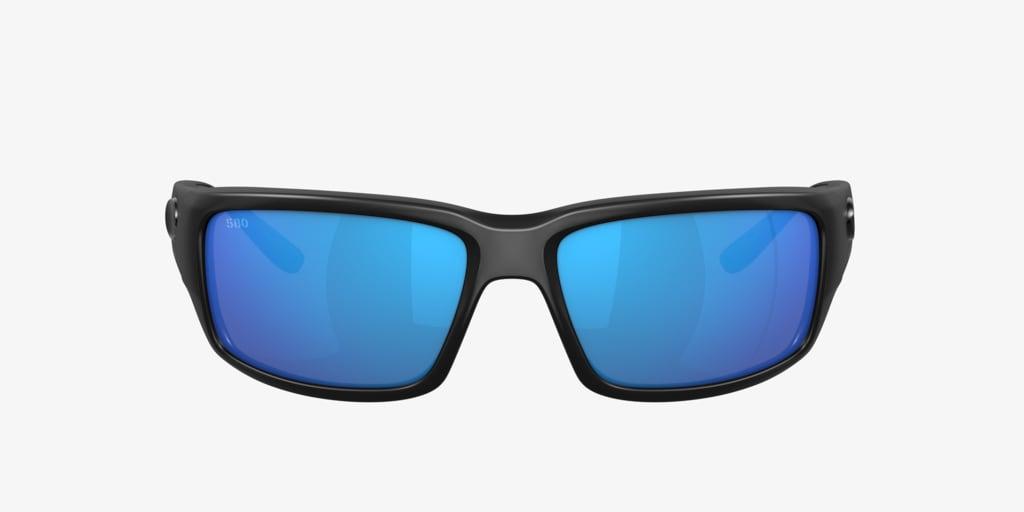 Costa Del Mar FANTAIL POLARIZED 59 Black Sunglasses
