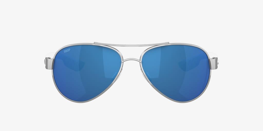 Costa Del Mar Loreto 59 Silver Sunglasses